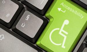 Image illustration d'un clavier avec une touche Accessibility